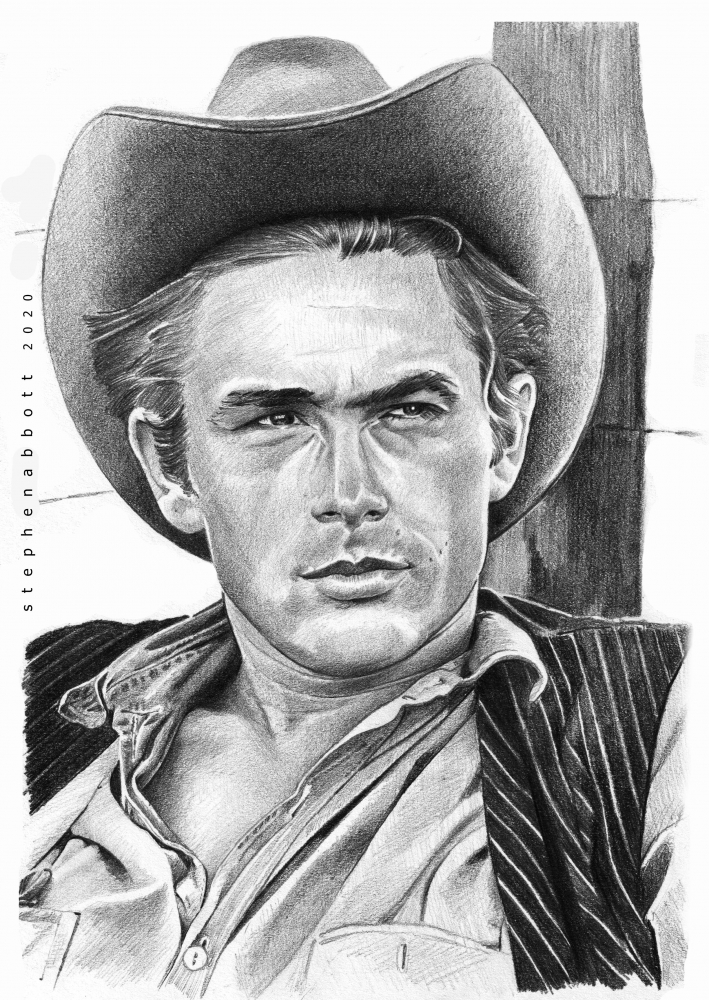 James Dean by StephenAbbott